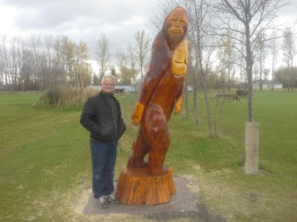 Sasquatch carving