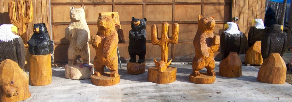 Chainsaw Carving Care and Maintenance