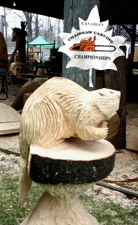 Events chainsaw sculpture by jim niedermayer