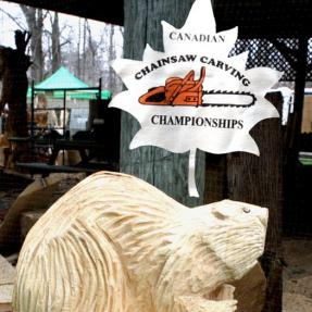London Chainsaw carving competition 2016
