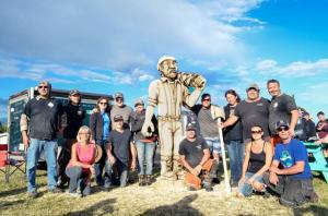 4p chainsaw carving challenge 2017